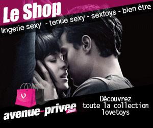 Avenue-Privee.com : lingerie sexy, gadgets fetish et love toys