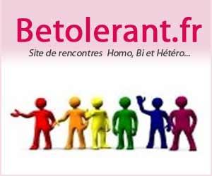 BeTolerant : Rencontres gratuites entre gays, lesbiennes, bisexuel(le)s et hétéros