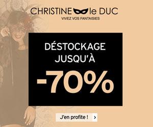 Christine le Duc : lingerie et érotisme pour femmes
