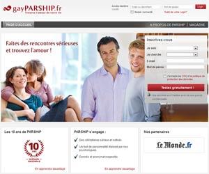 Gay Parship - Rencontres sérieuses par affinités pour gays et lesbiennes
