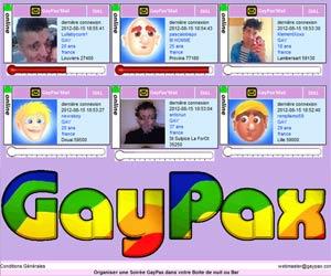 GayPax - Site pour gays, lesbiennes, bi et trans