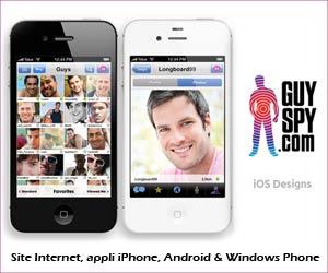 GuySpy : un site et une appli pour iOS, Android & Windows Phone