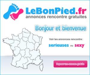 LeBonPied.fr : Annonces rencontre gratuites sérieuses ou sexy