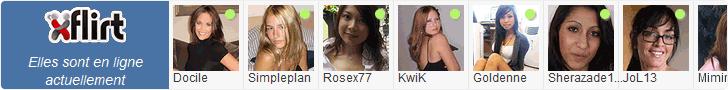 X-Flirt : profils en ligne