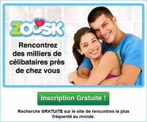 Zoosk - Rencontres géolocalisées entre célibataires