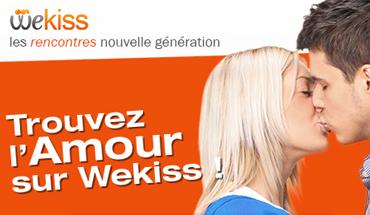 WeKiss - Rencontres géolocalisées entre célibataires