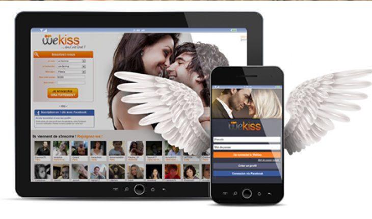 WeKiss : trouver des célibataires près de chez soi