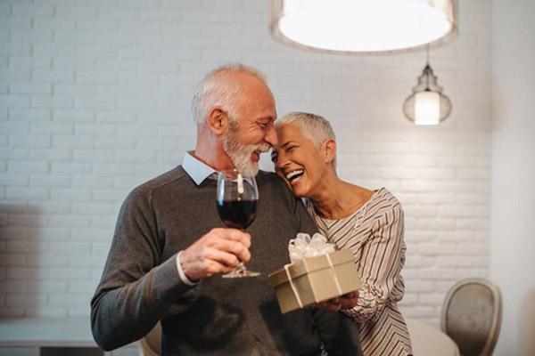 Les Saint-Valentin des vieux couples